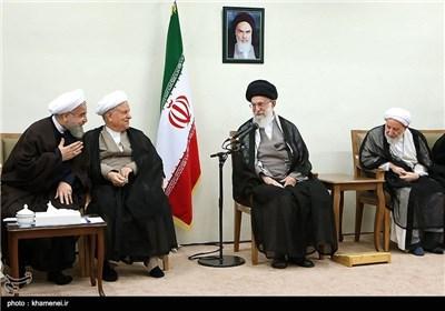 دیدار رئیس و اعضای مجلس خبرگان با مقام معظم رهبری