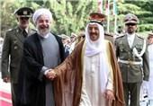 أمیر الکویت یهنئ الرئیس روحانی بإعادة انتخابه