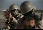 مناورات لحرس الثورة الاسلامیة غربی ایران وتنفیذ تکتیکات مختلفة