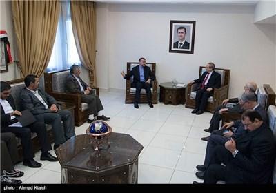 معاون وزیر الخارجیة یلتقی کبار المسؤولین السوریین فی العاصمة دمشق