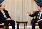 Iran's Deputy FM, President Bashar Assad Meet in Damascus