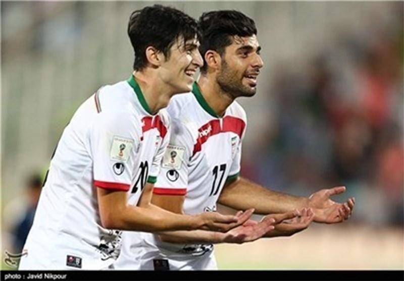 ایران تفوز علی غوام بستة اهداف مقابل لاشیء