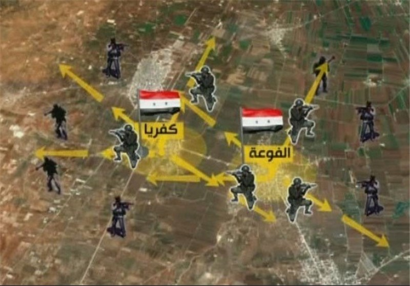 مصدر میدانی من بلدة الفوعة یؤکد فشل هجوم جدید للتکفیریین