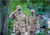 امیر پوردستان از اردوگاه تابستانی دانشگاه افسری ارتش بازدید کرد