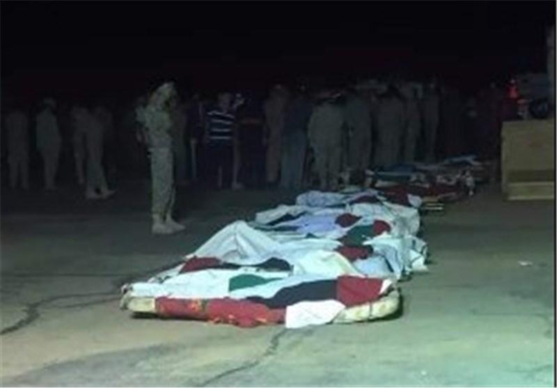 """انتشال عشرات الجثث من مطار صافر لقوات """"تحالف"""" العدوان السعودی على الیمن"""