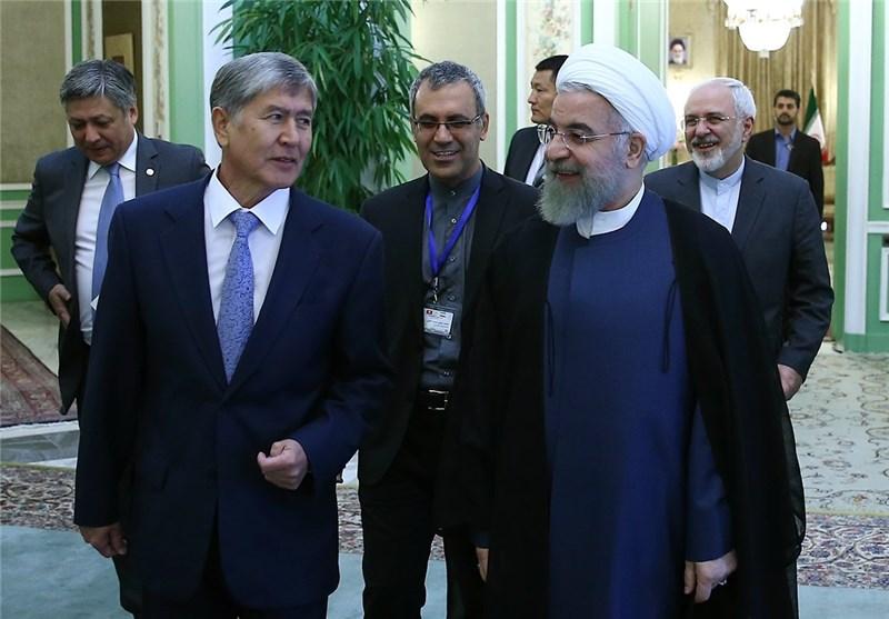ایران وقرغیزیا توقعان علی 8 مذکرات تفاهم للتعاون فی مختلف المجالات
