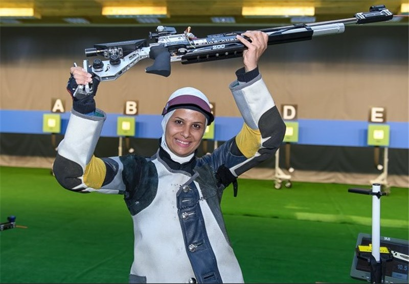 Iran's Ahmadi Remains Top at 10m Air Rifle Women Ranking