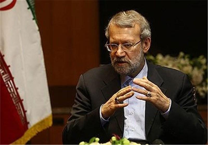رئیس مجلس الشوری الاسلامی: التجارب أثبتت أنه مع اندلاع أیة حرب نشأ تیار ارهابی