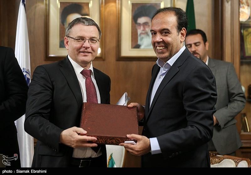 Czech FM, Trade Delegation Meet Iranian Businessmen