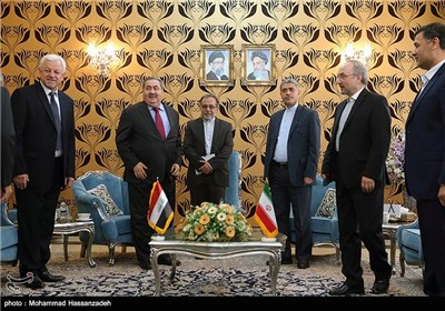 Photos: Iranian Economy Minister Meets Iraqi Counterpart in Tehran