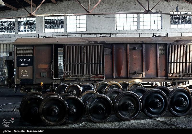 کلنگزنی پروژه بازسازی کارخانجات تعمیرات واگن ایستگاه راهآهن بندرترکمن