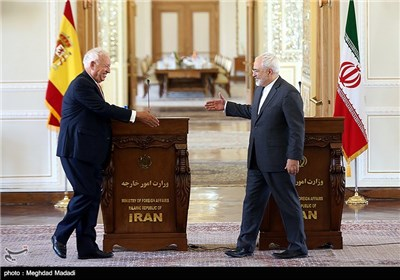 Iranian, Spanish FMs Meet in Tehran