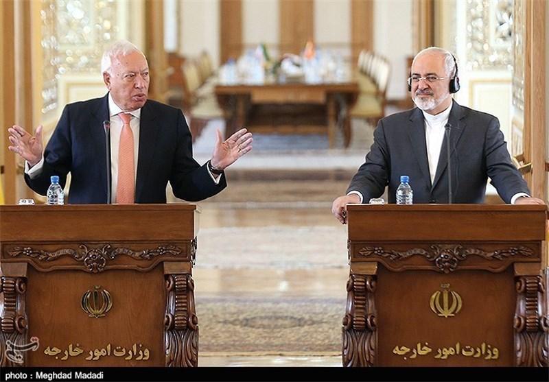 وزیر خارجه ایران و اسپانیا