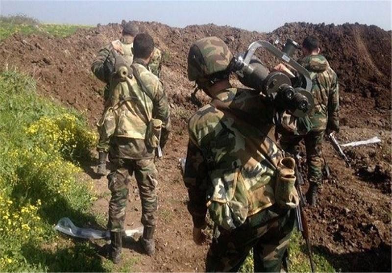 "الجیش السوری یصد هجوما لـ""داعش"" على حقل ""جزل"" النفطی بریف حمص"