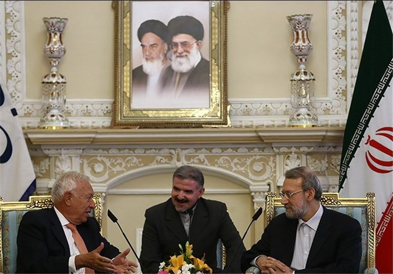 Iranian Speaker, Spanish Ministers Hold Talks on Bilateral Ties