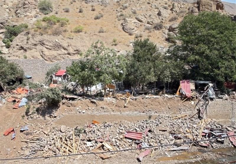 تهران  جاده کن_امامزاده داوود به علت بالاآمدن آب رودخانه کن مسدود شد