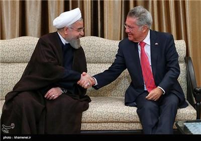 Photos: Supreme Leader Meets Austrian President in Tehran