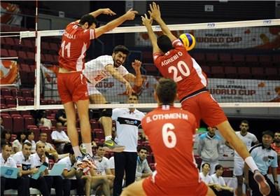 والیبال ایران تونس