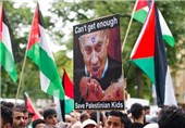 Protests Greet Netanyahu on British Visit