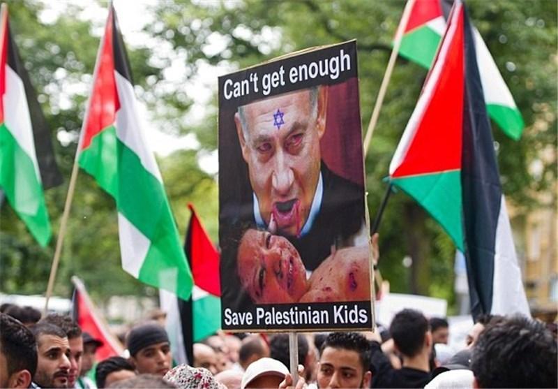 تظاهرات اعتراضی علیه نتانیاهو، در آلمان