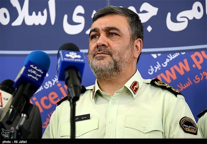 نیروی انتظامی با اخلالگران نظم و امنیت مقتدرانه برخورد میکند