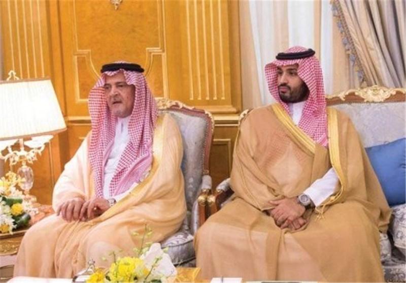 محادثة محمد بن سلمان المشبوهة عن سعود الفیصل