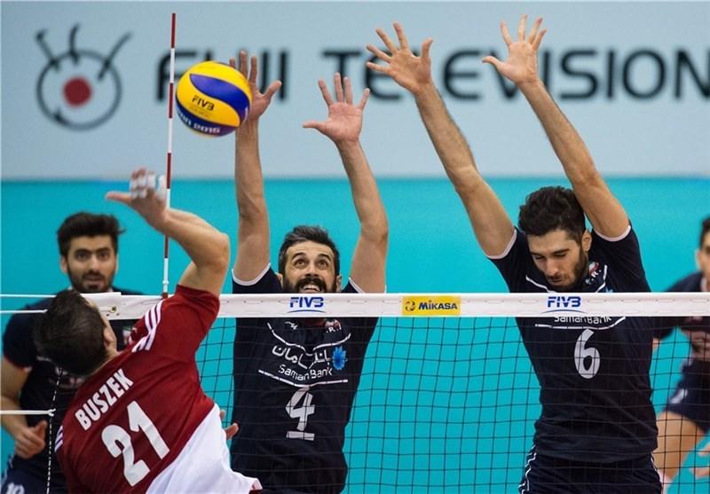 والیبال ایران لهستان