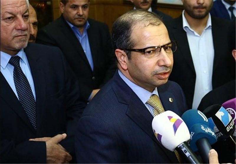 سلیم الجبوری رییس مجلس عراق در تهران
