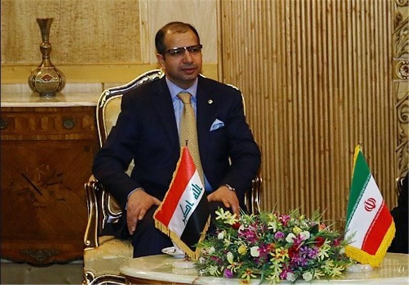 رئیس مجلس النواب العراقی یصل طهران