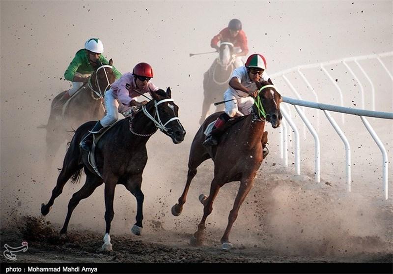 هفته پنجم مسابقات اسبدوانی تابستانه کشور در بندرترکمن برگزار شد