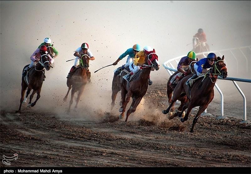 مسابقات اسبدوانی کورس پائیزه کشور در آققلا آغاز شد