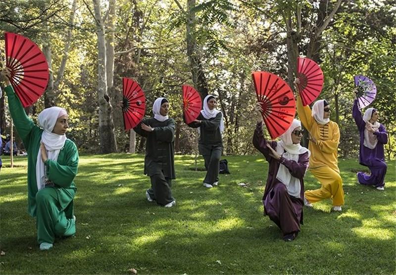 تصاویر همایش بزرگ تای چی در بوستان ملت
