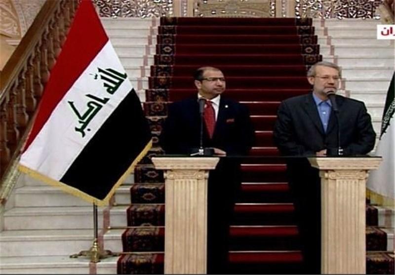 رئیس مجلس الشوری الاسلامی: ایران تساعد العراق بناء علی طلب الشعب العراقی وحکومته