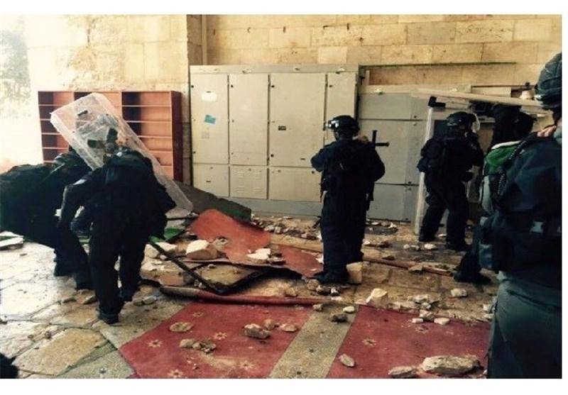 اقتحام ثانِ لقوات الاحتلال باحات المسجد الأقصى من باب المغاربة