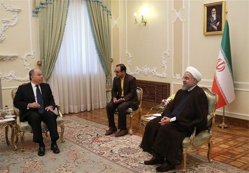الرئیس روحانی: نرحب بتطویر العلاقات مع دول امریکا اللاتینیة