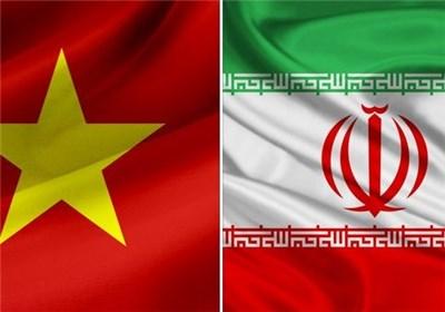 پرچم ایران و ویتنام