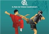 افتتاح ششمین دوره مسابقات ووشوی بینالمللی جام پارس در حضور داورزنی