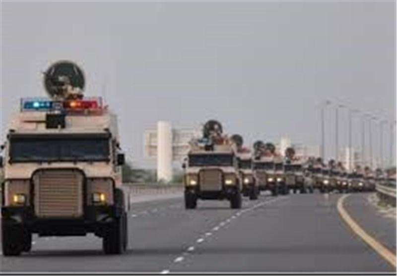 الکتائب القطریة الغازیة المحاصرة فی مأرب تناشد طیران التحالف عدم القصف