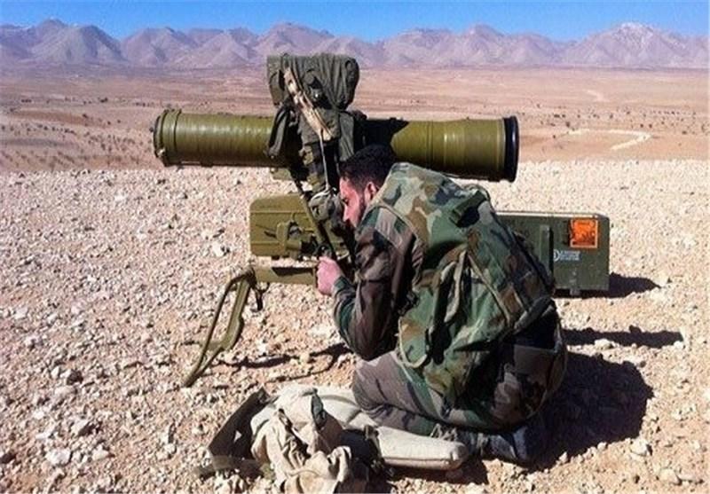 الجیش السوری یحصد أکثر من 30 إرهابیاً فی استهداف مقر اجتماع لهم فی دوما