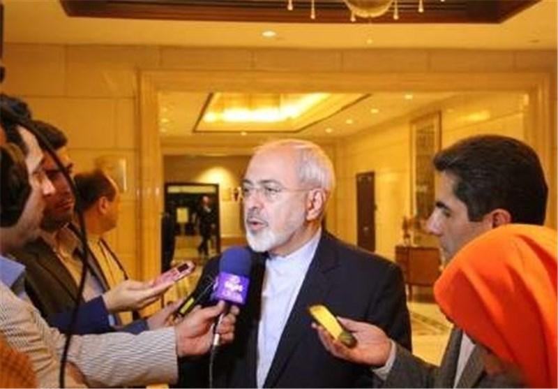 ظریف فی بکین : نامل باستمرار دور الصین البناء فی مرحلة تنفیذ الاتفاق النووی