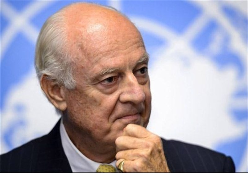 UN Envoy Sees Staggered Start to Syria Peace Talks