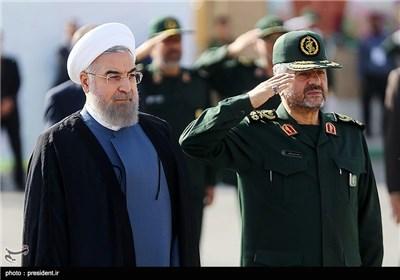 الجمعیة العامة الـ 21 لقادة و مسؤولی حرس الثورة الاسلامیة بمشارکة رئیس الجمهوریة