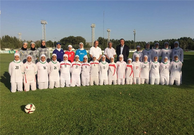 Iran to Play Thailand at AFC U-16 Women's Championship Opener