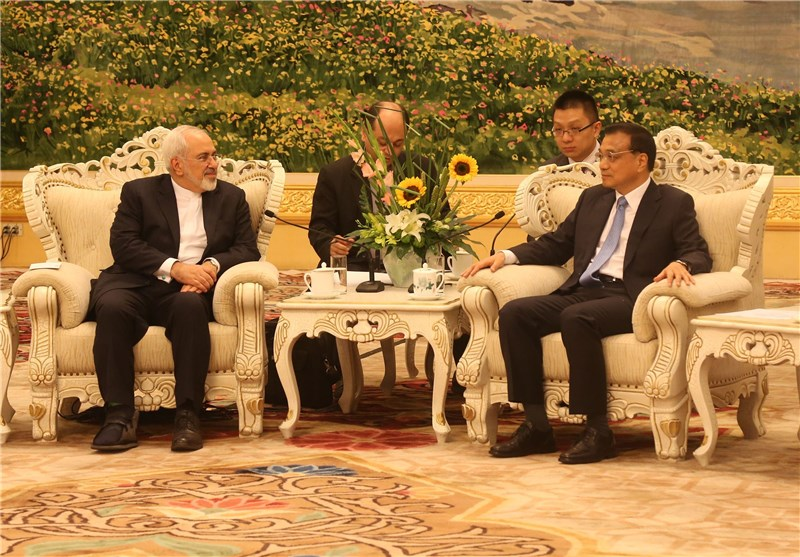 "FM Zarif Views China as ""Iran's Strategic Partner"""