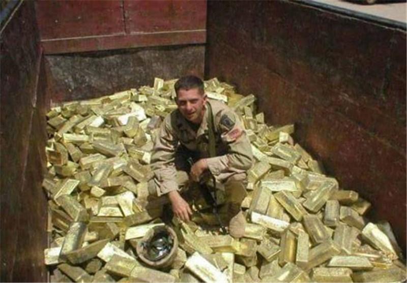 العراق یتحرک للکشف عن مصیر السبائک الذهبیة التی سرقها منه الامریکان