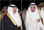 نامه پادشاه بحرین به ملک سلمان