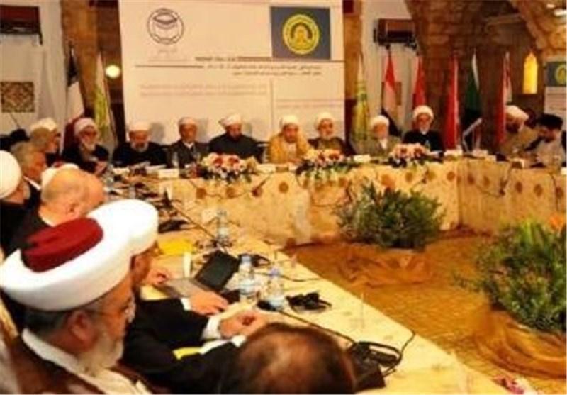 «الاتحاد العالمی لعلماء المقاومة» یهیب بالمسلمین الدفاع عن حرمة المسجد الأقصی
