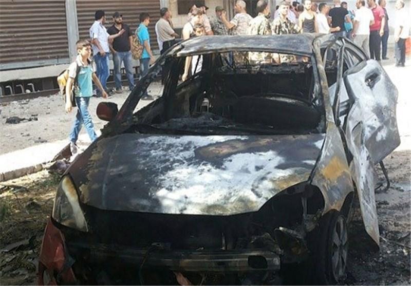 إصابة 8 أشخاص جراء تفجیر إرهابی فی حی الزهراء بمدینة حمص وسط سوریا+ صور