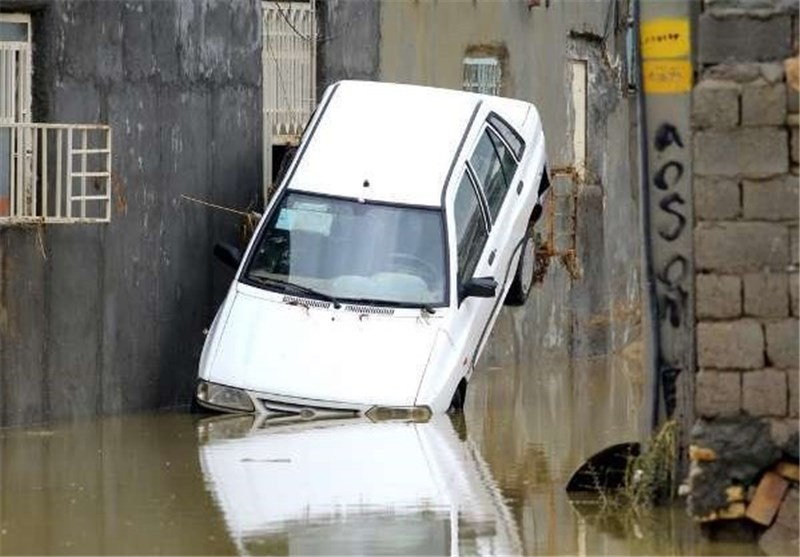 Flash Flooding Hits Northern Iran, 2 Killed, 5 Missing