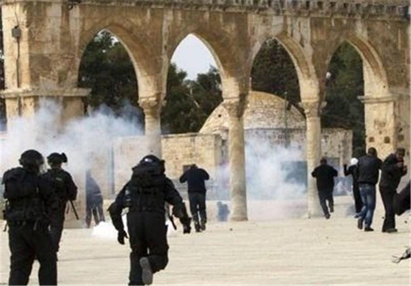 حمله نظامیان صهیونیست به مسجد الاقصی